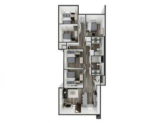 E1 Floor plan layout