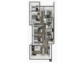 E2 Floor plan layout